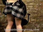 Tartan Skirt Fun